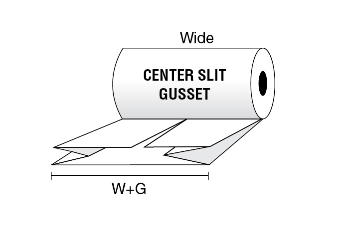 Center Slit Gusset